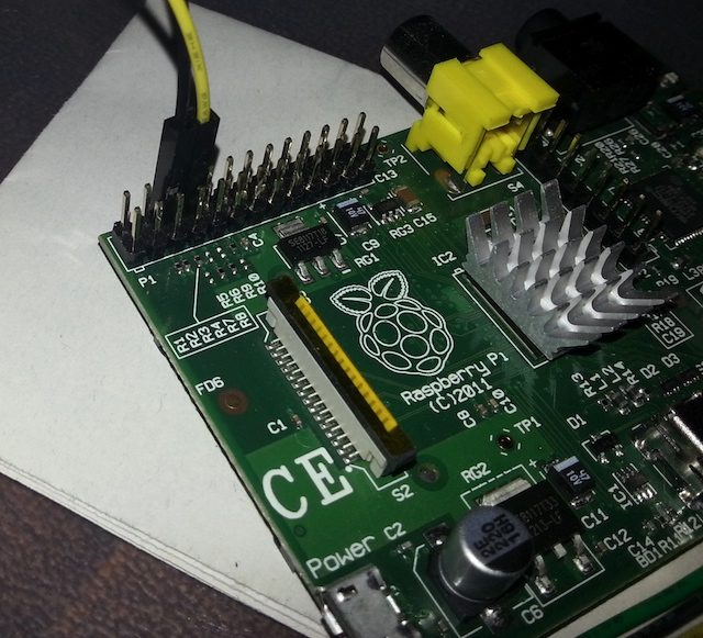 Connecting the Printer to the Raspberry Pi
